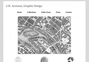 JH Aronson, Graphic Design